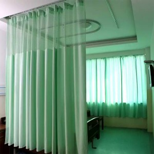 Super Lowest Price Nonwoven Fabric - Antimicrobial Hospital Cubicle Curtain – LONGWAY