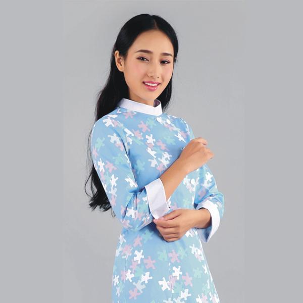 OEM/ODM Supplier Fire Retardant Curtain - Nurse Suits Printed Long Sleeve – LONGWAY