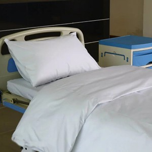 D2 Owu bleached White Hospital Bed Linen