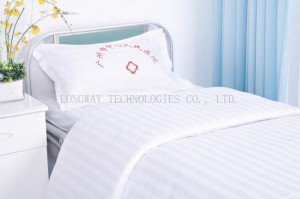 Hospital Bed Linen Cotton with Hospital Logo