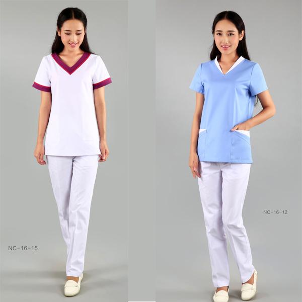 Factory source Womens Nurse Uniforms - Medical Scrubs with design – LONGWAY