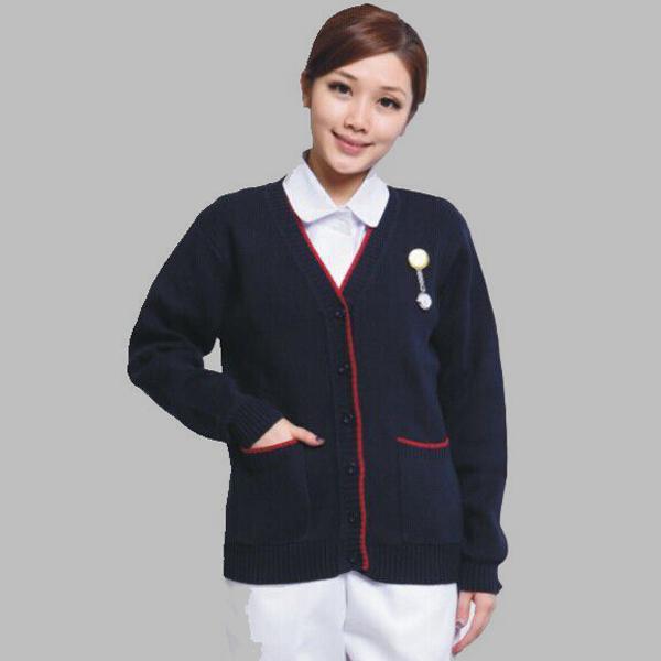 Bottom price Pink Striped Sheets - Nurse Sweater Nurse Jacket – LONGWAY