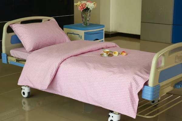 Reasonable price for Hospital Patient Gowns - E10 Cotton pink Windmill Hospital Bed Linen  – LONGWAY