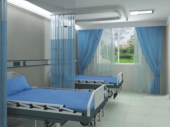 रुग्णालयात बेड तागाचे