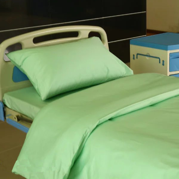 PriceList for Doctors White Coats - D7 Cotton Green Color Hospital Bed Linen – LONGWAY