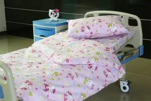 E21 Poly cotton Hospital Bed Linen for Paediatrics