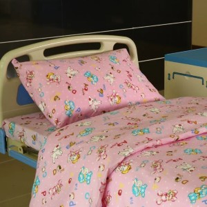 China Supplier Natural Color Wood Blinds - Y14 Cotton Hospital Bed Linen for Paediatrics  – LONGWAY