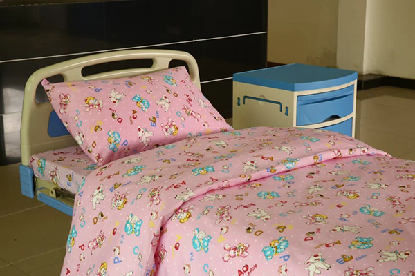 New Delivery for Custom Made Curtain - Y14 Cotton Hospital Bed Linen for Paediatrics  – LONGWAY