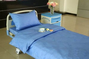 Cheap PriceList for Curtain Track - Pure Cotton Hospital Bed Sheet – LONGWAY
