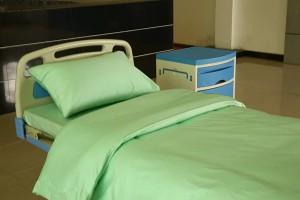 Rapid Delivery for Panel Blind For Room Divider - Pure Cotton Light Green Hospital Sheet sets – LONGWAY
