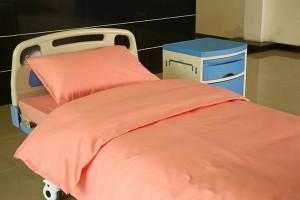Pink Color Pure Cotton Hospital Sheets
