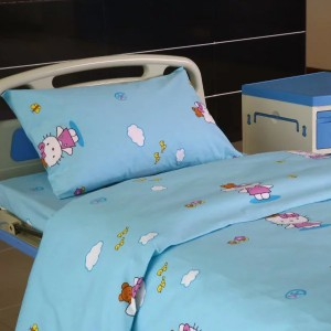 Factory Free sample Flamingo Door Curtains - Cotton Hospital Bed Linen for Paediatrics  – LONGWAY