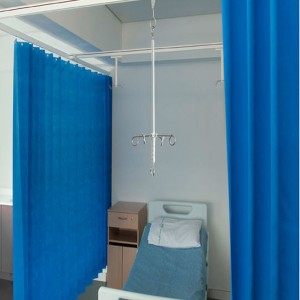 Short Lead Time for Wholesale Hemp Fabric - Disposable Hospital Cubicle Curtain – LONGWAY