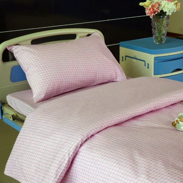 Free sample for Themral Curtain Fabric - E10 Cotton pink Windmill Hospital Bed Linen  – LONGWAY