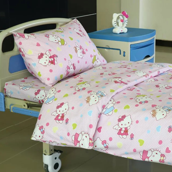 Well-designed Window Curtains Design - E21 Poly cotton Hospital Bed Linen for Paediatrics  – LONGWAY