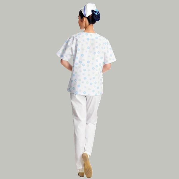 medical scrub (blue flower 6)_副本