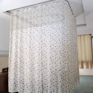 Double-side Printed Flame Retardant Hospital Cubicle Curtain