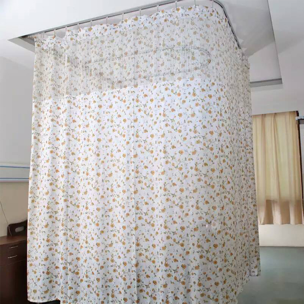 Bottom price Fire Retardant Curtain Fabric - Double-side Printed Flame Retardant Hospital Cubicle Curtain – LONGWAY