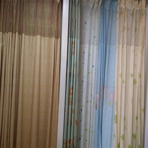 Painted Flame Retardant Anti bacteria Hospital Cubicle Curtain