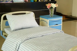 Special Price for Curtain Hospital - Gingham Cotton Hospital Bed Linen – LONGWAY